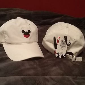 Two Vintage Disney Micky mouse hat